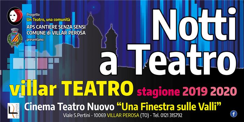 STAGIONE TEATRALE 2019-2020